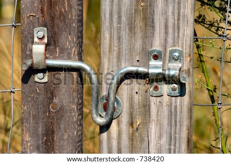 Simple Fence Gate Latch