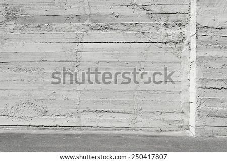 Simple gray concrete wall background