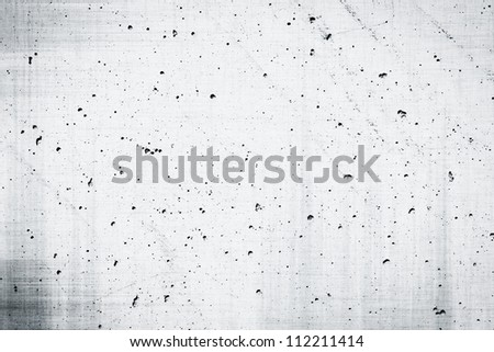 Simple gray concrete wall background with texture dark edged - stock photo