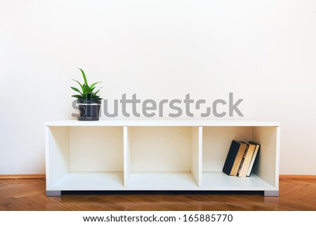 simple interior - stock photo