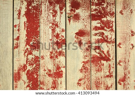 Simple red and gray barn wood background. - stock photo