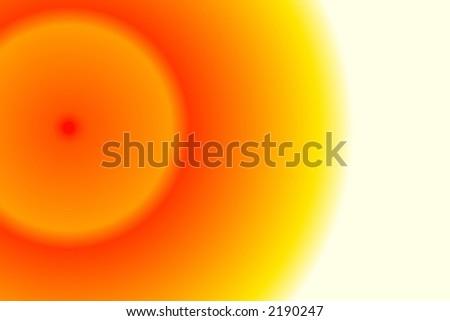 Simple Sunshine - stock photo