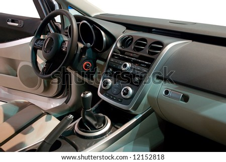 Simple Yet Stylish and Balanced Interior of a Modern Japan Car