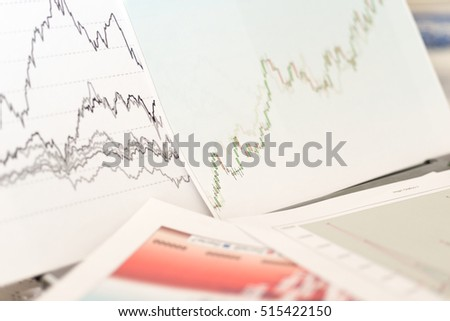 Simulation of a financial study