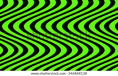Sine wave abstract background