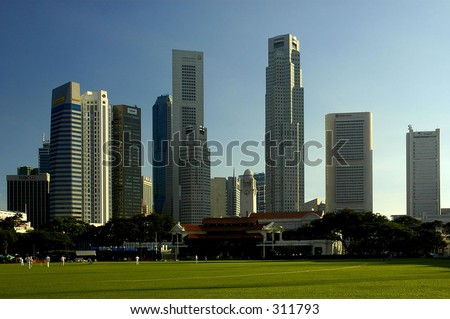 Singapore Business District Series