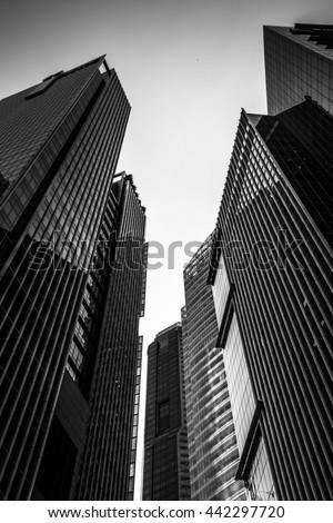 Singapore City, Singapore - stock photo
