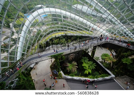 Garden By The Bay Award gardensthe bay singapore stock images, royalty-free images