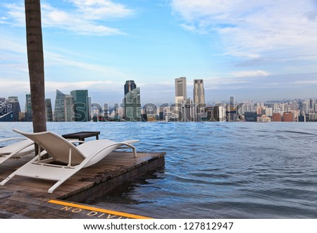 Luxury Infinity Pool Stock Images Royalty Free Images Vectors Shutterstock