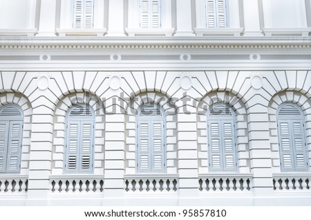 Singapore National museum - stock photo