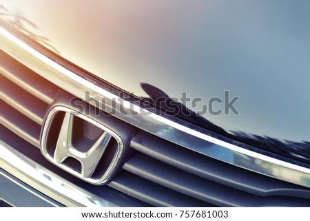 SINGAPORE OCTOBER 22 2017 Honda Car Stock Photo Royalty Free