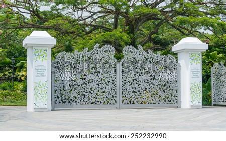Botanic Flower Garden Singapore Stock Images, Royalty-Free Images ...