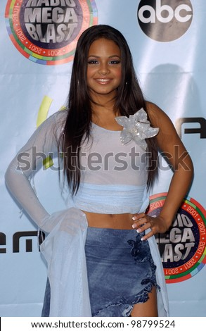 Singer CHRISTINA MILIAN at the 2001 Radio Music Awards at the Aladdin Hotel & Casino, Las Vegas. 26OCT2001.  Paul Smith/Featureflash
