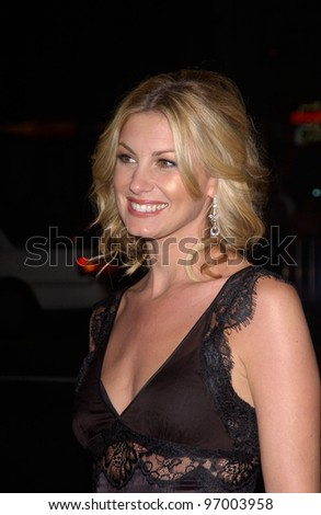 Singer FAITH HILL at the world premiere, in Hollywood, of Friday Night Lights. October 6, 2004