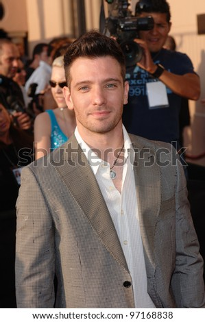 Singer JC CHASEZ at the 2005 MTV Movie Awards at the Shrine Auditorium. June 4, 2005. Los Angeles, CA  2005 Paul Smith / Featureflash