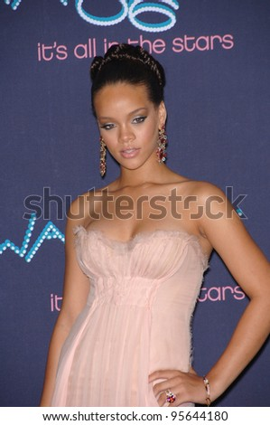 Singer RHIANNA at the 2006 BET Awards in Los Angeles.. June 27, 2006  Los Angeles, CA  2006 Paul Smith / Featureflash - stock photo