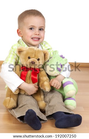 Single child without a playmate