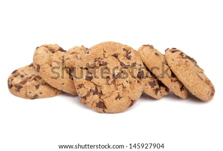 Single cookie and some more - stock photo