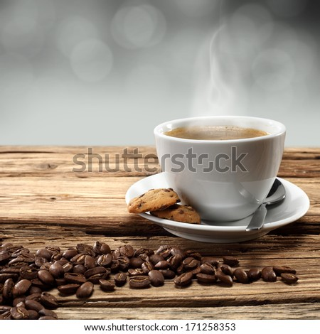 single cup of coffee