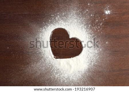 single heart of love