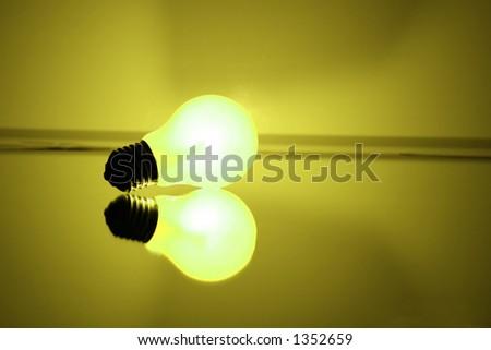 Single light source - stock photo