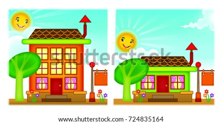 Single Storey And Double House
