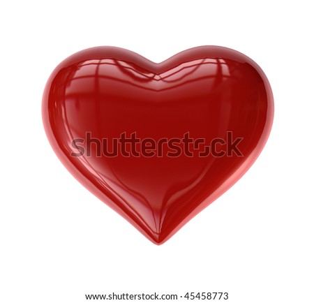 Single Valentine's Heart (Candy-like)