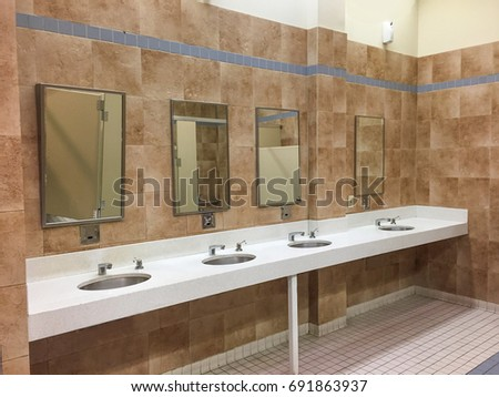 public bathroom sink restroom stock images royalty free images 14044