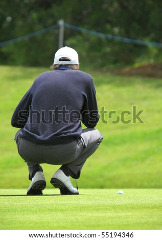 SINTRA, PORTUGAL - JUNE 10: Richard Green (AUS), in the 1st day game at the European Tour - Estoril Open de Portugal 2010, Penha Longa GC, June 10, 2010, Sintra, Portugal.