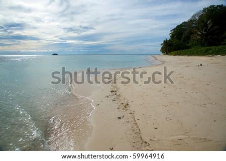 Sipadan Beach in Borneo! - stock photo