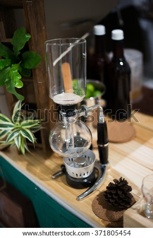 siphon vacuum coffee maker
