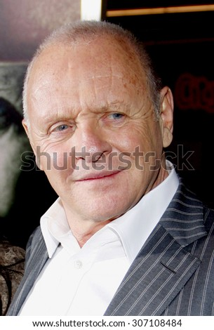 Sir Anthony Hopkins at the Los Angeles premiere of 'The Rite' held at the El Capitan Theater in Hollywood, USA on January 26, 2010.