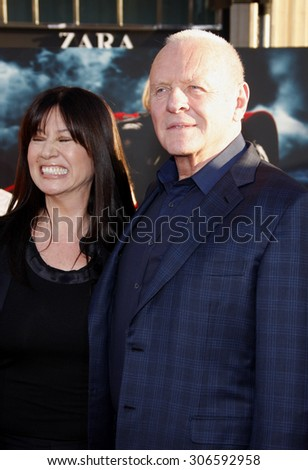 Sir Anthony Hopkins at the Los Angeles premiere of 'Thor' held at the El Capitan Theater in Hollywood, USA on May 5, 2011.