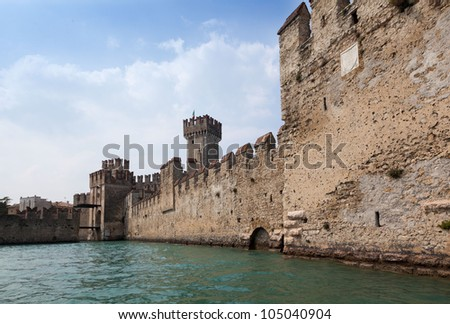 Sirmione Garda Lake Italy north Lombardy