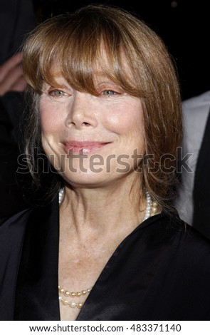 Sissy Spacek at the World premiere of 'Four Christmases' held at the Grauman's Chinese Theater in Hollywood, USA on November 20, 2008.