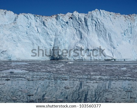 Situated  on Greenland west coast about 80km north of Ilulissat.
