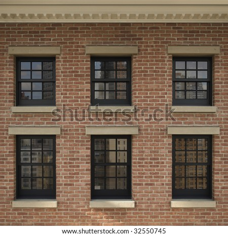 Brick Window Stock Images Royalty Free Images Amp Vectors