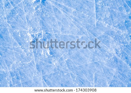 Skated on Ice Surface background