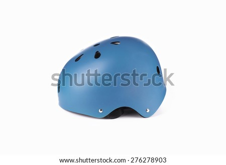 skater Helmet isolated on white background