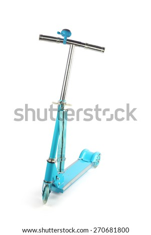 Skating Scooter - stock photo