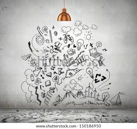 wall drawing stock images, royalty-free images & vectors