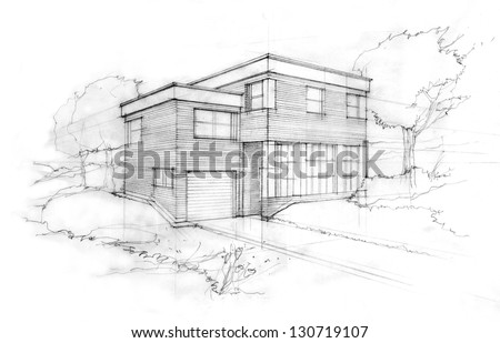 Architecture House Sketch home sketch stock images, royalty-free images & vectors | shutterstock