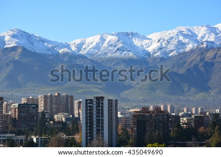 Ski Resort in Santiago Chile