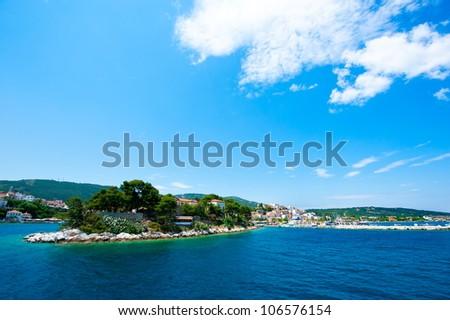 Skiathos island, Greece - stock photo