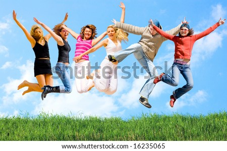 """skies above - grass below -  of  """"Sport and fitness"""" multiple series in studio's portfolio - stock photo"""