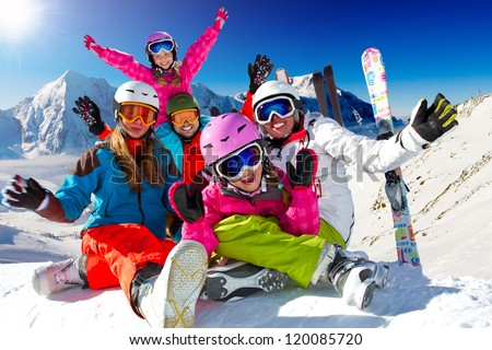 Winter vacation stock images royalty free images for Best family winter vacations