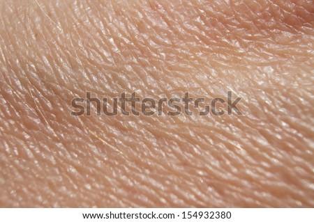 Skin close up - stock photo
