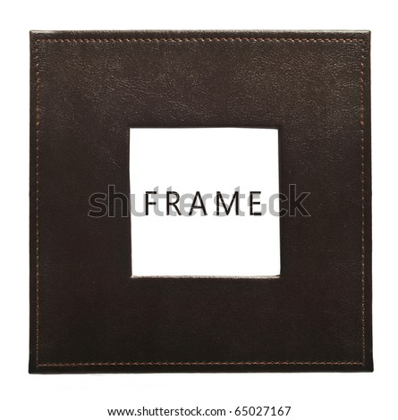 skin frame - stock photo