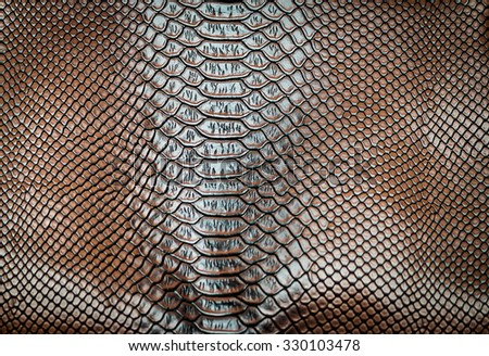 skin leather texture use for background - stock photo