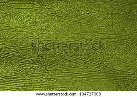 Skin texture, green skin background - stock photo